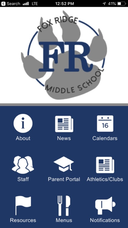 Fox Ridge Middle School App