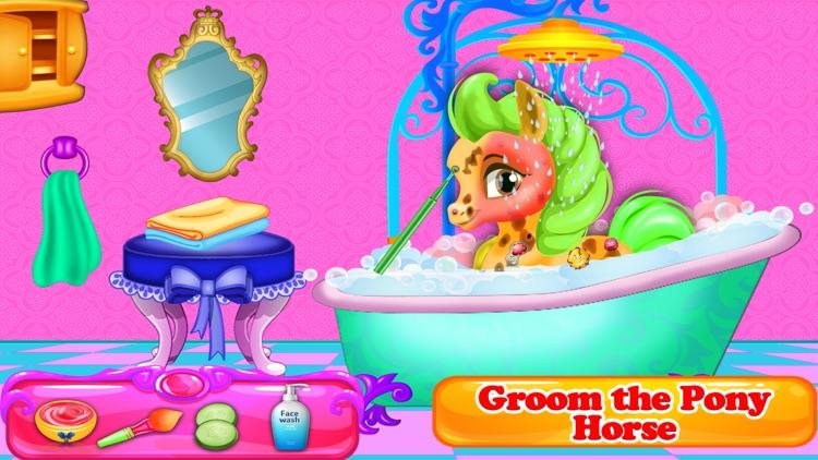 Rainbow Pony Horse Makeover screenshot-5