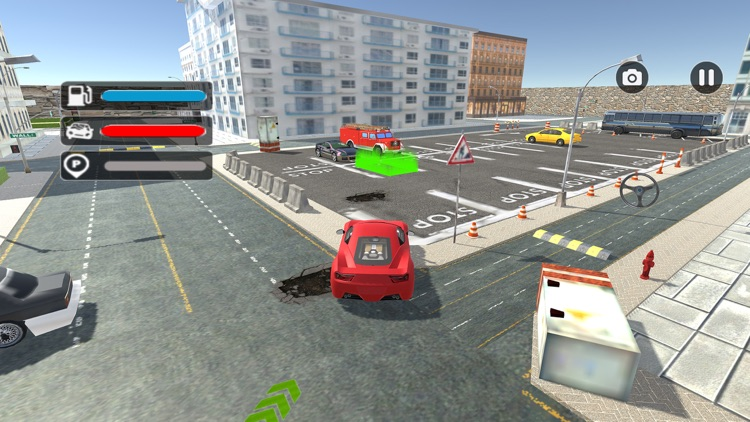 Futuristic Car Park Challenge screenshot-3