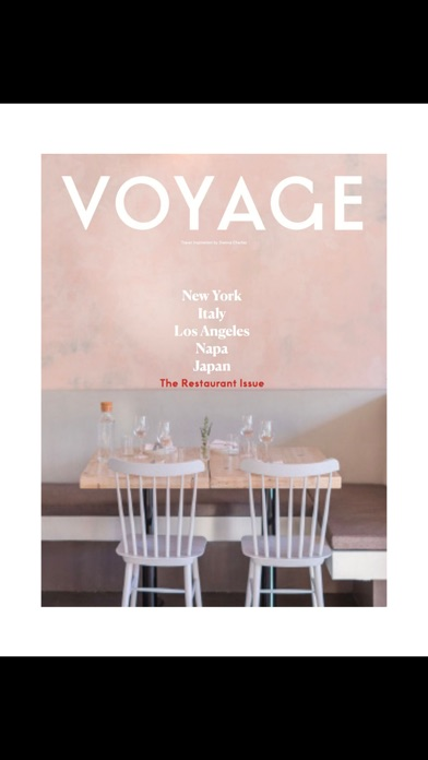 Voyage (Magazine) screenshot 3