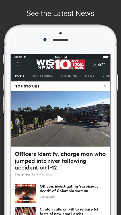 WIS News 10 screenshot-0