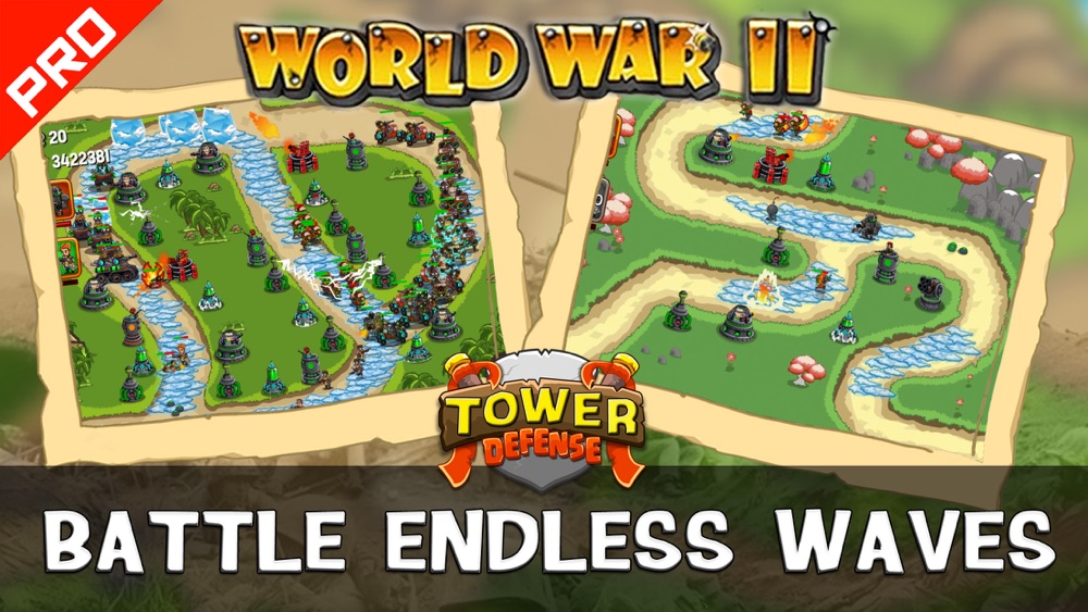 WWII Tower Defense PRO Cheat Codes