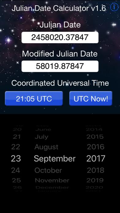 Julian Date Calculator screenshot one