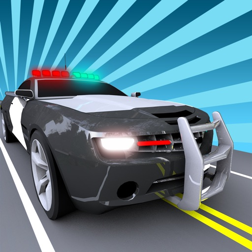 Police Sheriff Patrol Cars Drag Race: A High Speed Police Chase: Drag Racing HD Game By Shannon Le