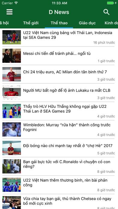 D News - Đọc báo, tin tức mới nhất 24h screenshot one