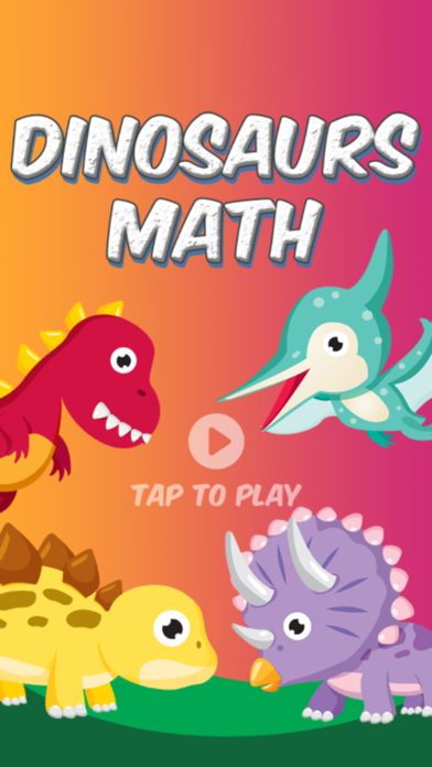 Dinosaurs Math - 3rd Grade screenshot one