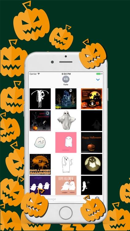 Animated Halloween Fun Sticker