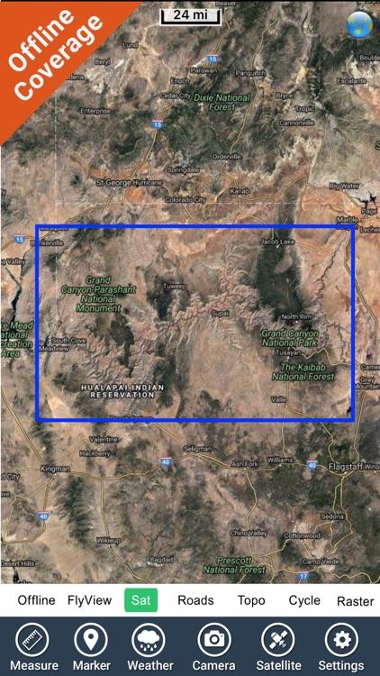 Canyonlands National Park - GPS Map Navigator screenshot-4