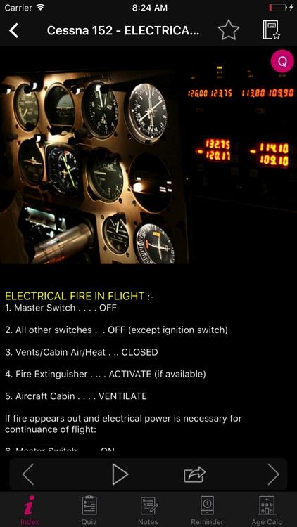 Cessna 152 Checklist Pilot screenshot-5