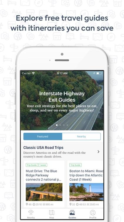 Roadtrippers - Trip Planner screenshot-3