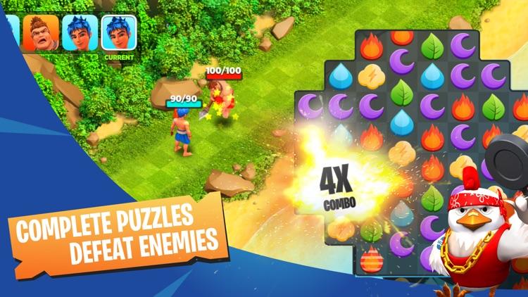 Puzzle Clash : A Match 3 RPG screenshot-0