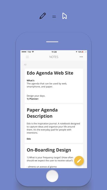Edo Agenda