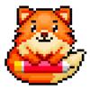 Foxy - Colorir Pixel Art