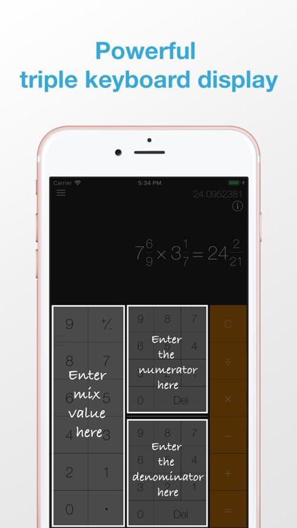 iFraction Calculator Plus screenshot-3