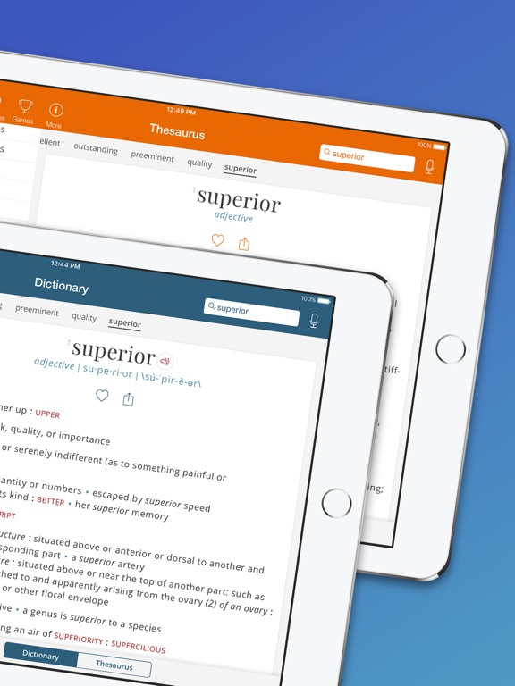 Merriam-Webster Dictionary Pro Screenshots