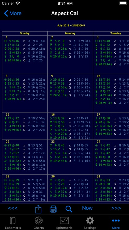 iPhemeris Astrology Charts screenshot-7