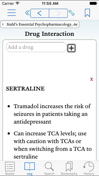 Prescriber's Guide, Stahl, 6e screenshot-3