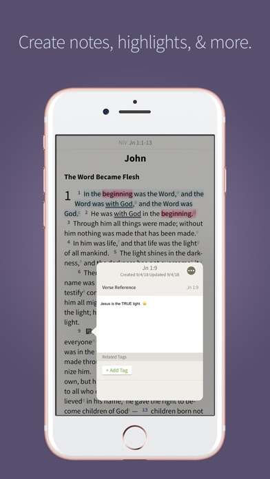NIV Bible App + screenshot four