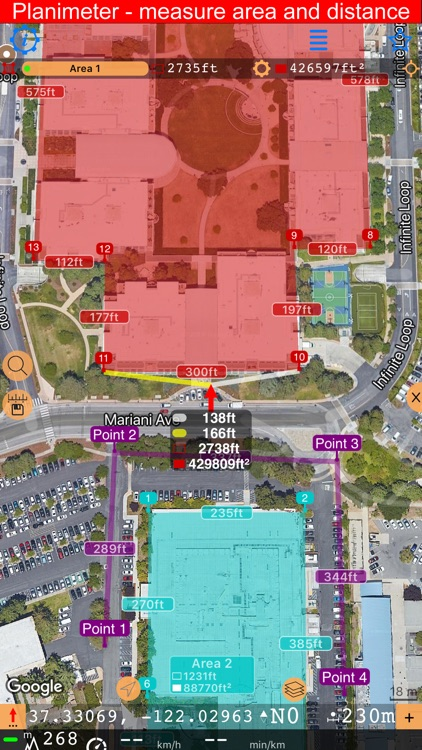 Compass 55. Map & GPS kit. screenshot-3
