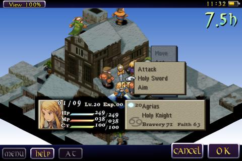 FINAL FANTASY TACTICS: THE WAR OF THE LIONS screenshot 2