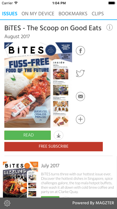 BiTES - The Scoop on Good Eats screenshot 1