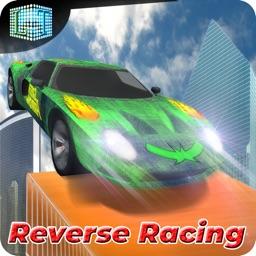 Reverse Car Stunt Driving