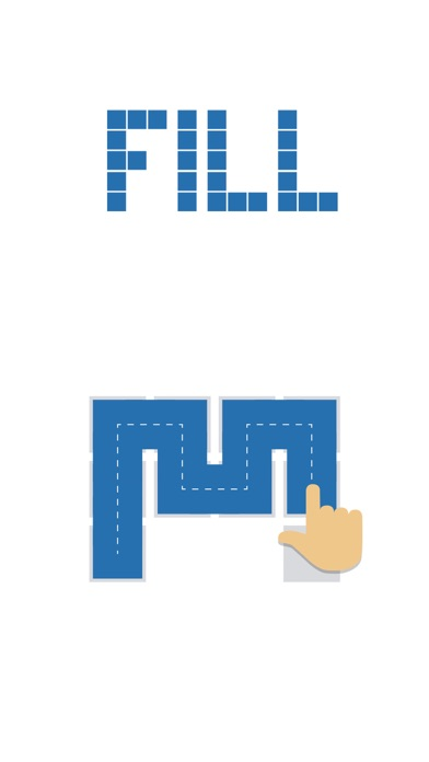 Fill one-line puzzle game for windows pc