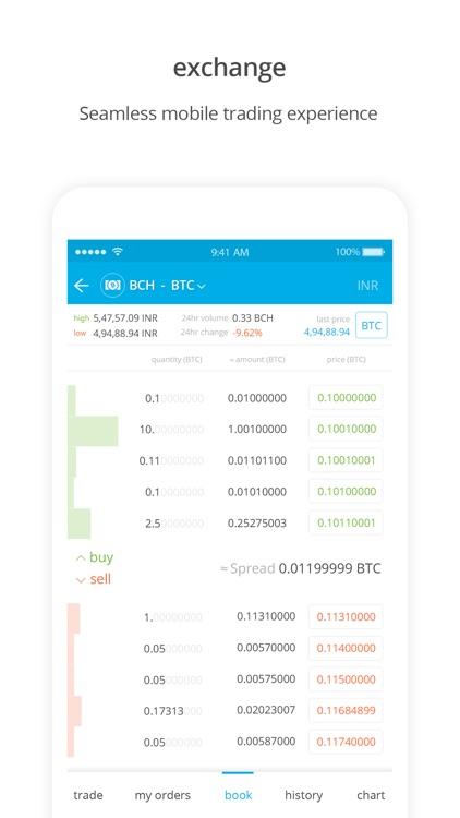 Zebpay Cryptocurrency Exchange screenshot-3