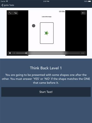 IGNITE App - náhled