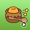 A Lazy Egg Animated Stickers app for iPhone/iPad