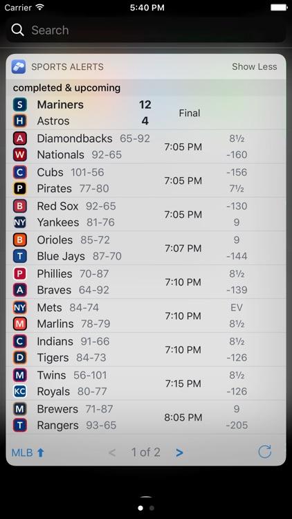 Sports Alerts screenshot-4