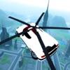 飞行汽车未来派救援直升机飞行模拟器 - 至尊肌肉车3D