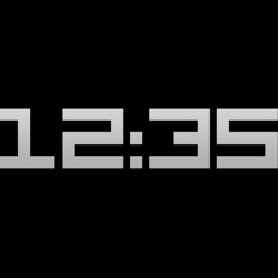 Titanium Digital Clock