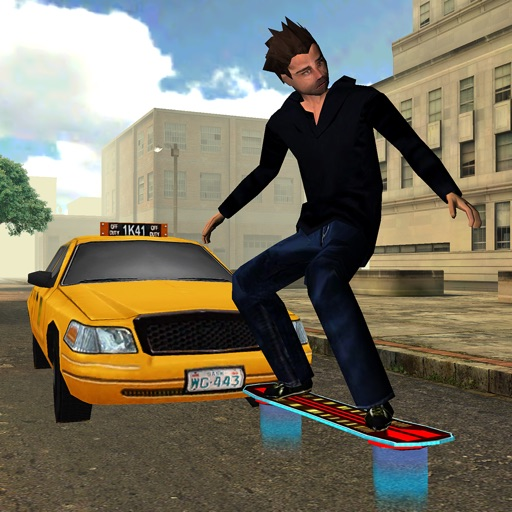 3D Hoverboard Racing Simulator - eXtreme Hover Board Skateboarding Games 2