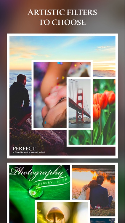 After Frame 365 Pro - Photo Collage Editor & Layout & beauty Camera & sticker