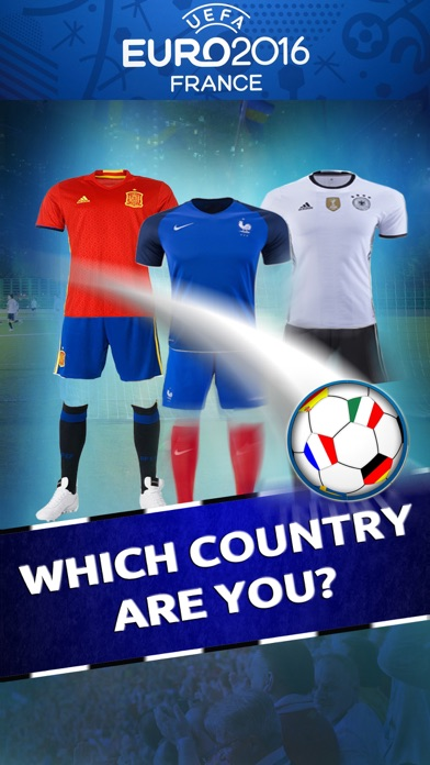 Which Euro 2016 Country Are You? - Foot-ball Test for UEFA Cupのおすすめ画像1