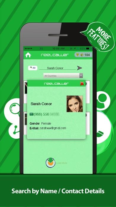 Reel Caller +:Anrufer-IDScreenshot von 1