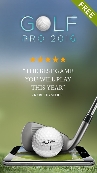 Golf Games Pro — 18 holes to master, Free version