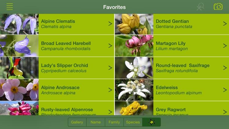 AlpineFlower Finder – a Swiss flower field guide screenshot-3