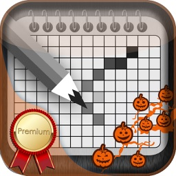 Halloween Japanese Crossword Premium - Most Magical Nonogram
