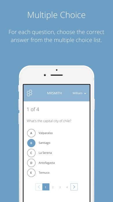 Socrative Student Screenshot