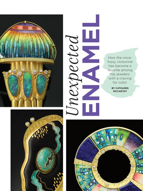 Lapidary Journal Jewelry Artist Magazine screenshot-4