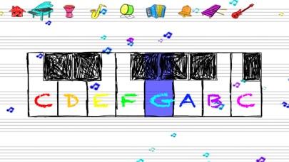 点击获取Doodle Sounds - Paper Piano