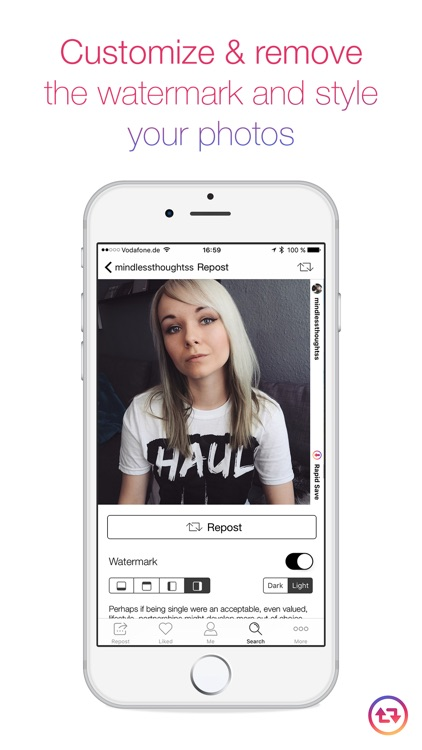 Rapid Save Reposter for Instagram - Repost Videos & Photos on Instagram screenshot-3