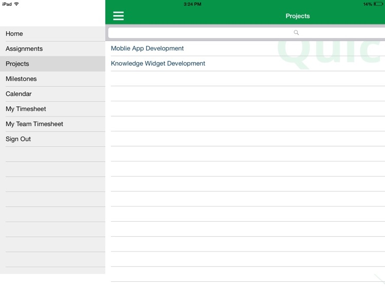 QuickProject for iPad