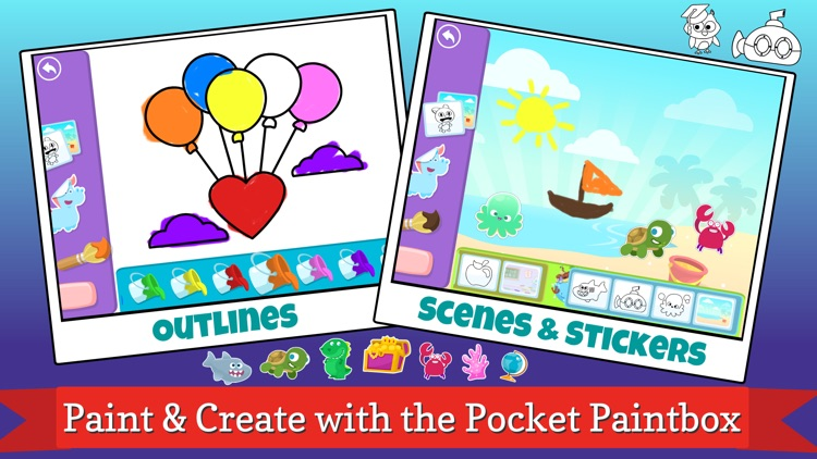 Pocket Worlds - Fun Education Games for Kids screenshot-3