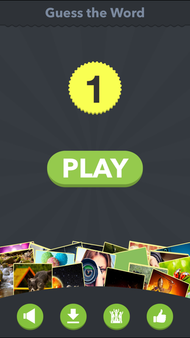 Guess the Word - new quiz with pics and word screenshot three
