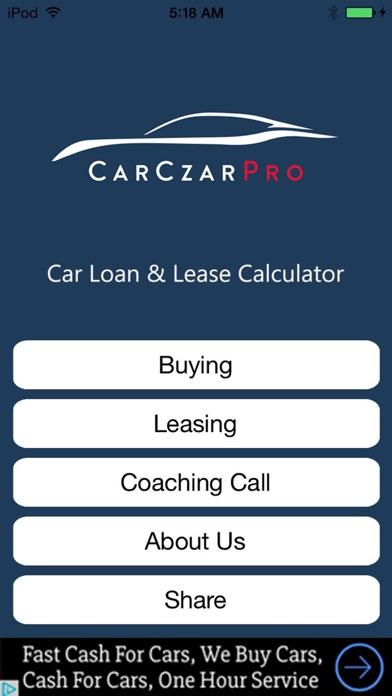 car czar pro car loan lease calculator free iphone ipad app market