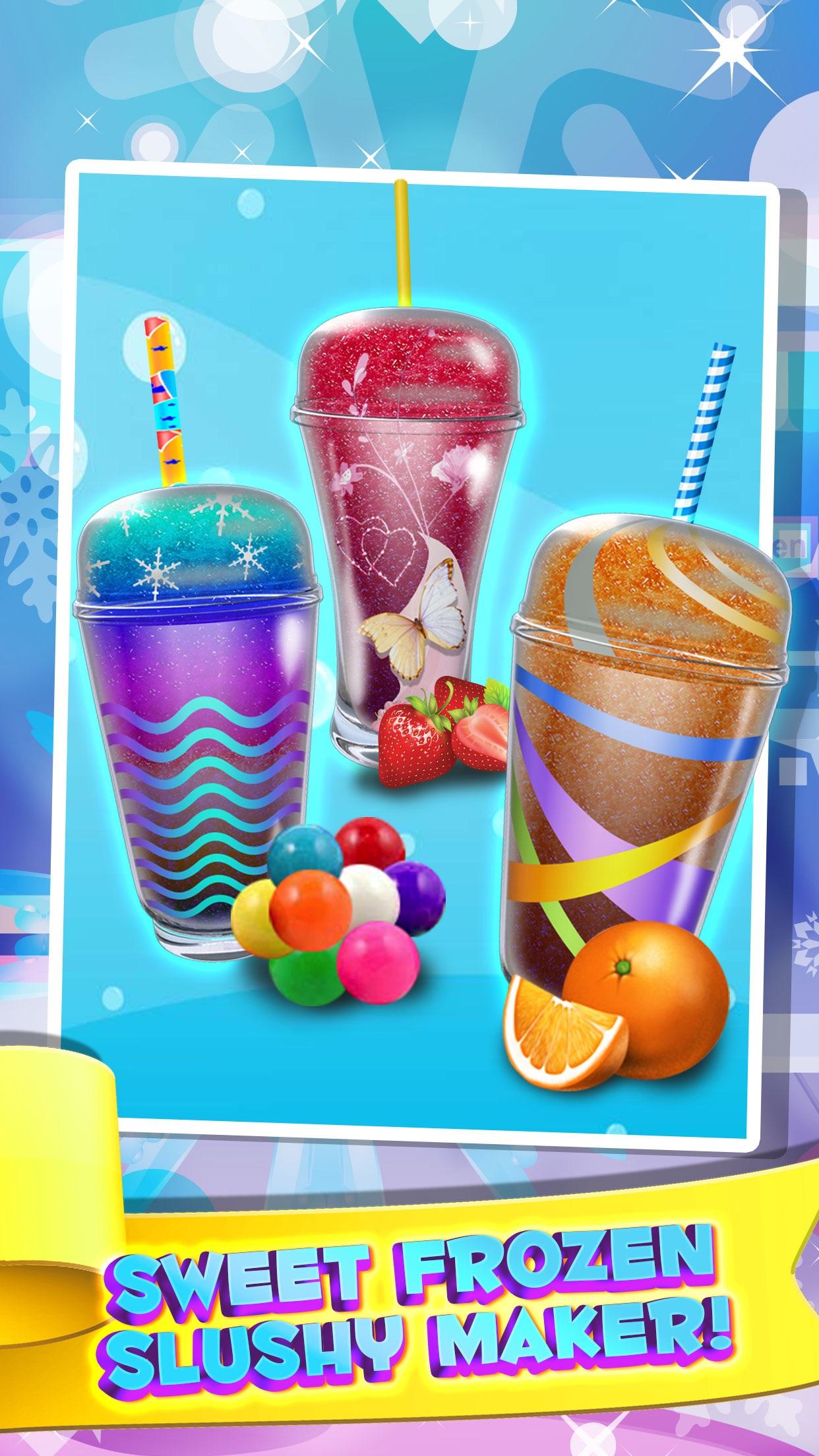 Dessert Slushy Maker Food Cooking Game - make candy drink for ice cream soda making salon! Screenshot