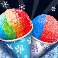 Activities of Snow Cone Maker - Happy Summer Frozen Food Making Games